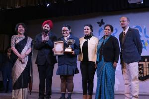 Chief Guest at Tagore International School Vasant Vihar New Delhi