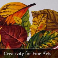 Creativity for fine arts