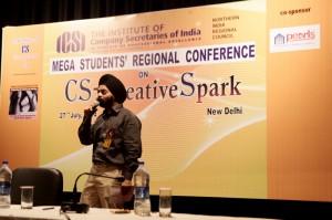 Creativity workshop @Creative Spark ICSI